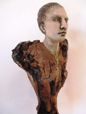Tree-People, Keramik-Holz, verkauft