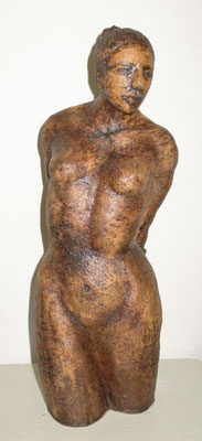 Frauenakt, Keramik
