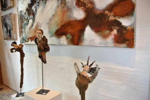 Gruppenausstellung April 2017, Aesch