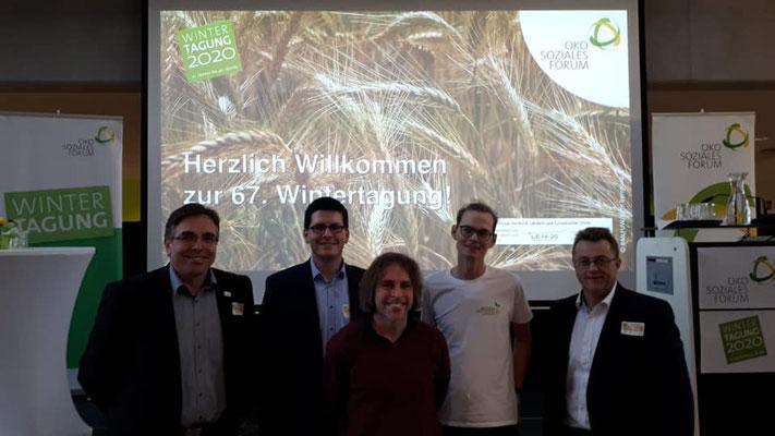 Hans Gnauer, Lorenz Mayr, Gernot Bodner, Franz Winkelhofer, Josef Wasner - Verein Boden.Leben
