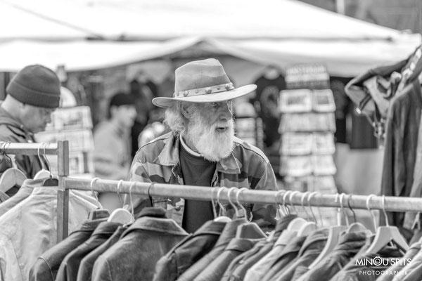 Straatfotografie zwart/wit