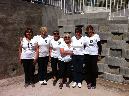 L'équipe des Bouches du Rhône