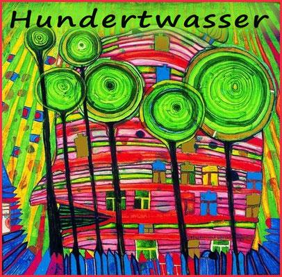 Waan je in de wondere wereld van Hundertwasser met acrylverf!