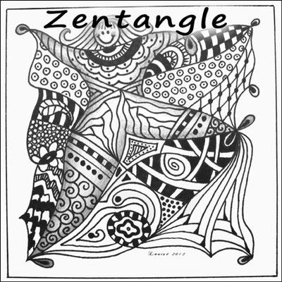 Ontspannend tekenen met zentangle, voor je het weet ben je er aan verslaafd!