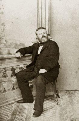 Die Separation bewegte auch Fritz Reuter im fernen Eisenach, hier auf einem, 1857 gefertigten Foto: