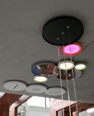 AQUAELITE Soffioni doccia soffitto Ninfa modulare