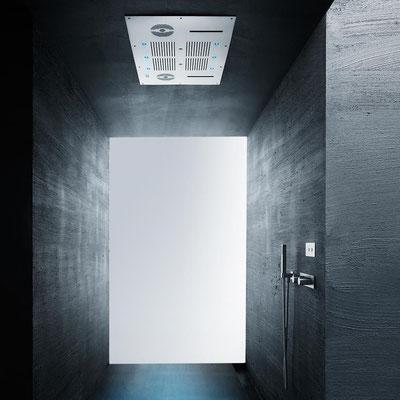 AQUAELITE Aqua Blue Sound soffione soffitto