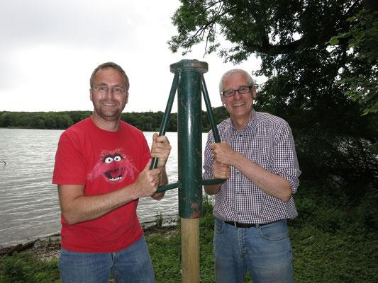 Robert Koburg und Hubert Beer