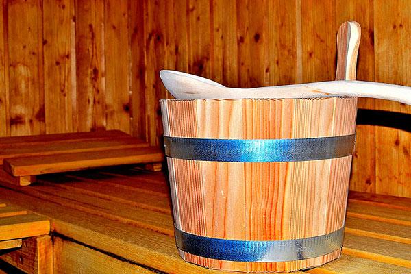 Klassische, finnische Sauna