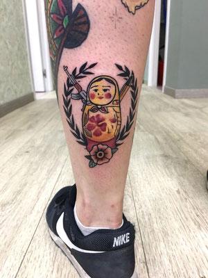 matrioska tattoo