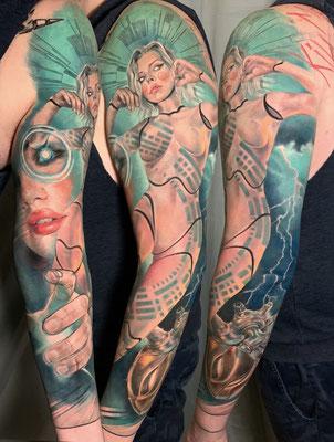 brazo chica cibor