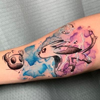 tatuaje watercolor