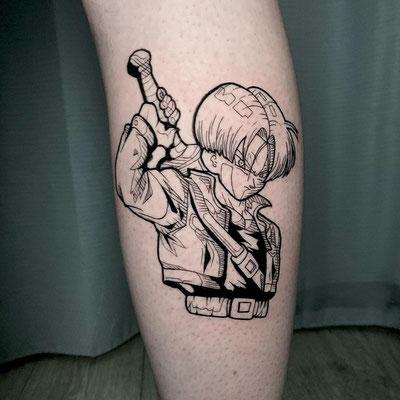 trunks tattoo