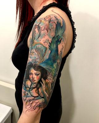 tatuaje sirena tattoo