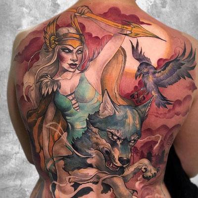 valkiria tattoo