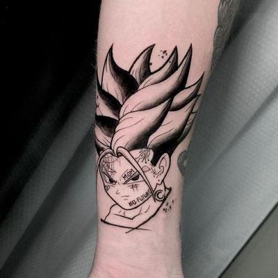 tattoo trunks sketch