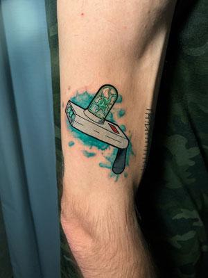 pistola portal tatuaje