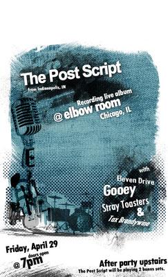 The Post Script Poster Design
