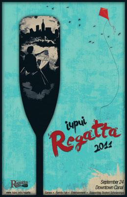 IUPUI 2011 Regatta Poster Design