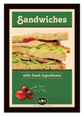iCafe Poster Design