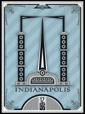 1205 Distillery Poster Design