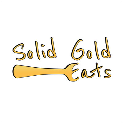 Solid Gold Eats Logo Design