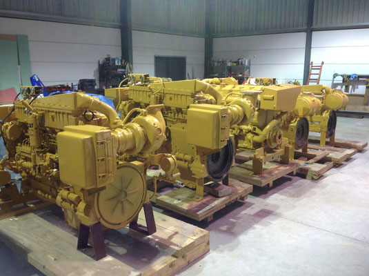 November deliveries - New stock of marine engines