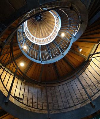 Wendeltreppe vom Stadtturm Trarbach