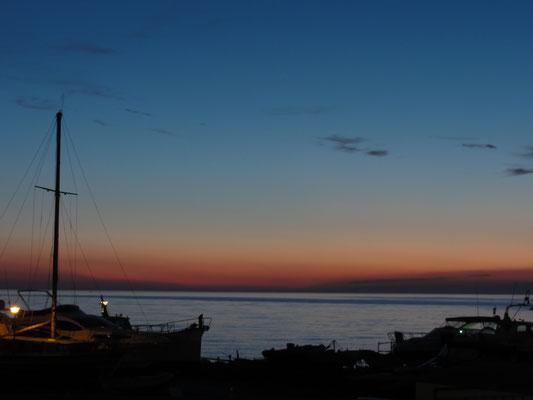 Sonnenuntergang Istrien/Kroatien