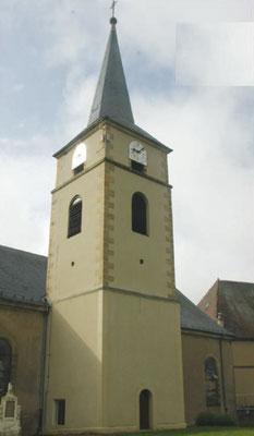 Eglise de Folkling, enduit minéral à la chaux de Wasselonne