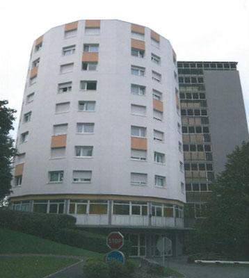 LogiEst, centre de réadaptation à Mulhouse, travaux d'Isolation extérieure et peinture