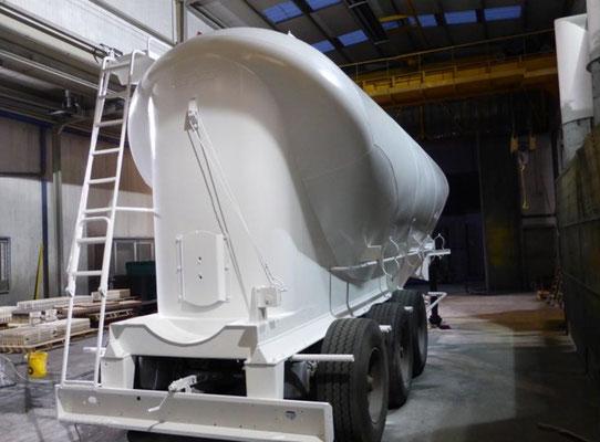 Transports Philippe, réalisation en nos ateliers