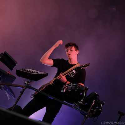 Petit Biscuit - The City Trucks Festival - Stephane Moreau Photographe Chalonnes sur Loire