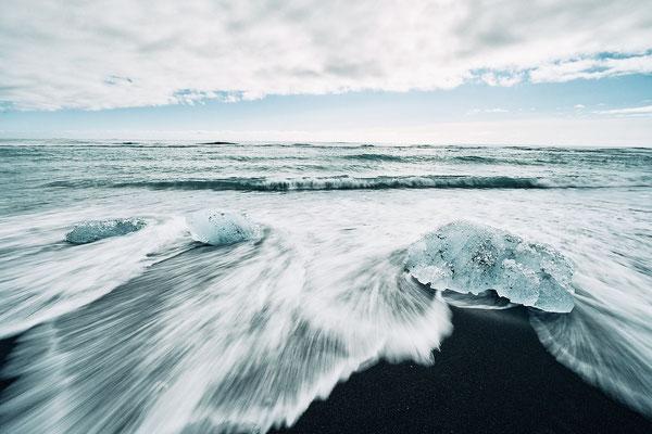 Diamond Beach - Jokulsarlon Iceland