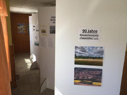 Ausstellung zum 90-jährigen Vereinsbestehen
