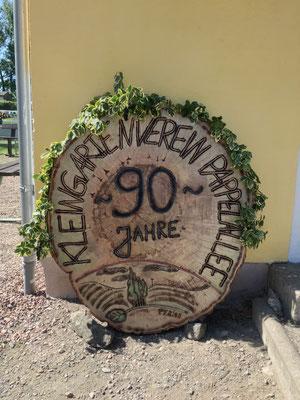 """Dieses wunderschöne Schild ist ein Geschenk vom Team der Gaststätte """"Zum Flachbau"""" in Frankenberg"""