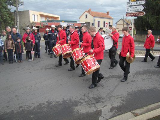 8 mai 2019 à Brassac-les-Mines. Cliché Julia Guerrero, La Montagne.