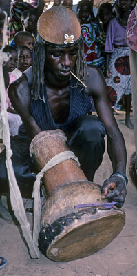 Jembe from rural Mali, Manden region, 1997