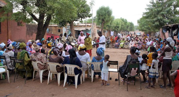 Vernacular wedding celebration, Bamako 2012