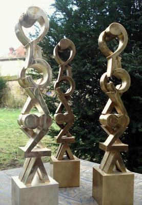 Trophées or, argent et bronze