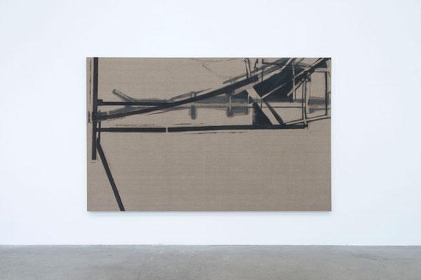 o.T., 2016 (Nr. 6.16) 185 x 295 cm, Leinen