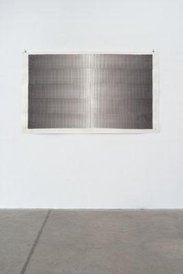 o.T. 2018, Aquarell, 110 x 183,5 cm