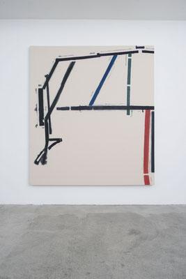 o.T., 2018 (Nr. 2.18) 225 x 200 cm, Baumwolle