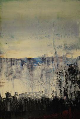 Öl auf Papier 55 x 37 cm 2013