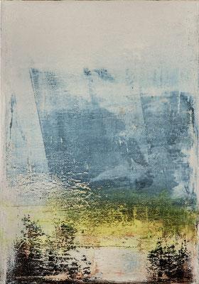 Öl auf Molino 100 x 70 cm 2016