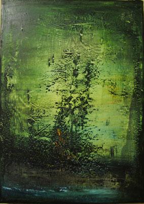 Öl auf Molino 70 x 50 cm 2017