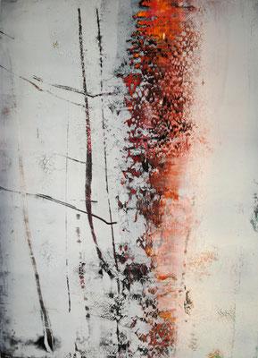 Öl auf Papier 90,5 x 66,5 cm 2011