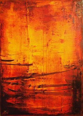 Öl auf Molino 100 x 70 cm 2014