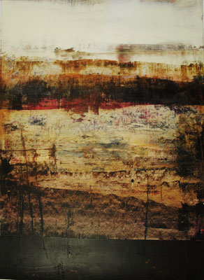 Öl auf Papier 90,5 x 66,5 cm 2012