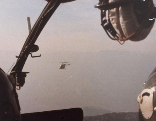 L'Alouette II du chef en point de mire